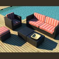 luxury wicker outdoor garden furniture
