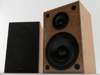 3d bookshelf speaker model