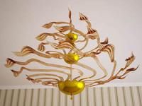 murano glass chandelier 3d max