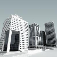 3d model definition buildings