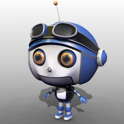 3d model cartoon robot
