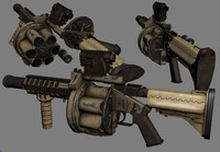 3d mgl-140 multiple grenade launcher