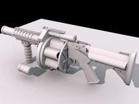 3d model hi-poly mgl-140 mgl