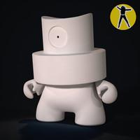 fatcap vinyl toy 3ds