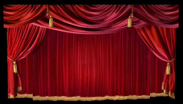curtains ideas red velvet theater inspiring pictures