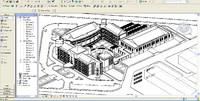 college university building revit 3d max