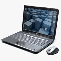 3d hp mouse laptop