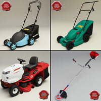 Lawn mowers collection
