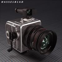mechanical camera wide hasselblad 3d obj