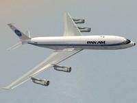 B 707-300 Pan Am