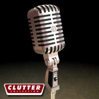 Electronics-Microphone Retro 001