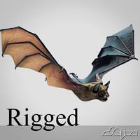 Bat Vampire (Biped Rig)