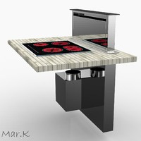 kitchen hood dhd7000x 3ds