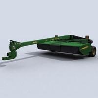 3ds max mower conditioner 1