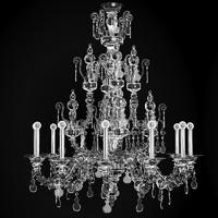 classic crystal murano 3d model