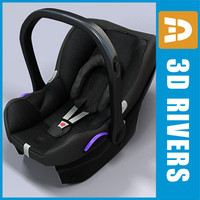 Infant car seat  02 by 3DRivers
