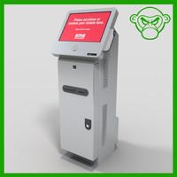 3d model movie ticket machine