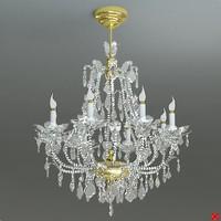3ds chandelier