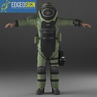 EOD9 bomb disposal suit