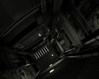 elevator shaft 3d max