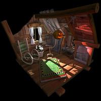 Fantasy Living Room