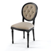FLAI  530 CLASSIC TUFTED DINING CHAIR