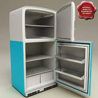 Retro Refrigerator Big Chill
