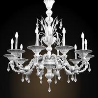 murano glass crystal 3d model