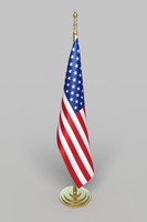 office american flag