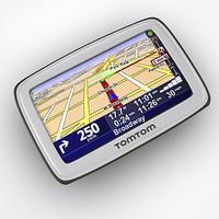 tomtom gps navigator - 3d max