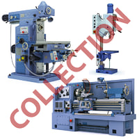 Collection of the industrial equipment
