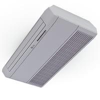 air conditioner ceiling lg 3d c4d