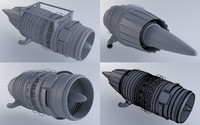 3ds max jet engine mkvb