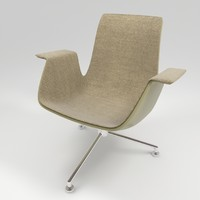 walter knoll fk lounge chair