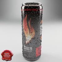 Drink Burn 0,25L Aluminum Can