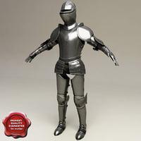 armour v2 3d model