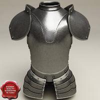armour v3 3d model