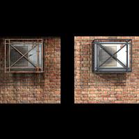 exterior air conditioner 3d model