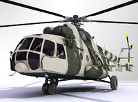 Mil Mi8 helicopter