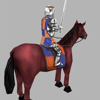 Medieval middle Cavalry