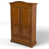 selva bedroom armoire 3d max