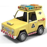 3d max rescue jeep car