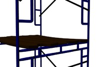 3ds max scaffolding temporary structure