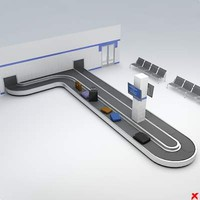 dxf carousel airport