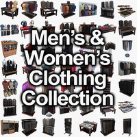 womens and mens clothing collection
