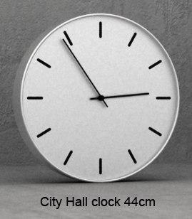 3d city hall clock 44cm model