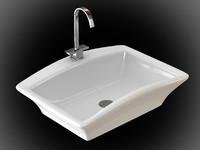3ds max ceramic basin faucet