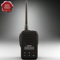 mobile radio vector obj