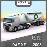 2008 daf xf bulk max