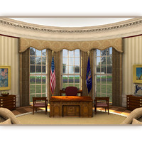 3ds max oval office